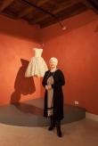 Barbara de Dominicis, con un abito da ballo Curiel 1956