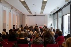 La conferenza stampa della mostra