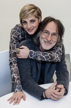 30.11.2012 Franz Di Cioccio and Elena Di Cioccio